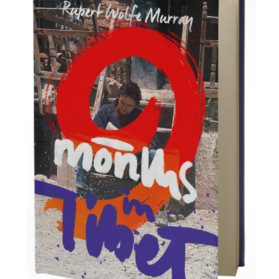 9 months in tibet travel book cover