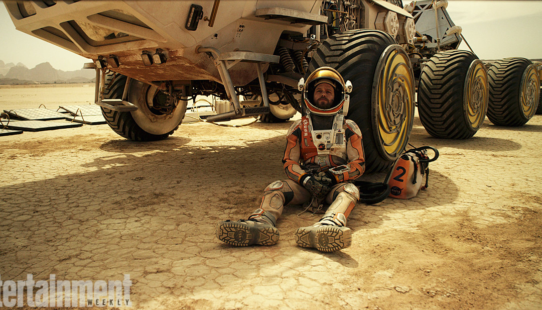 The Martian Helped Me Overcome Writers' Block